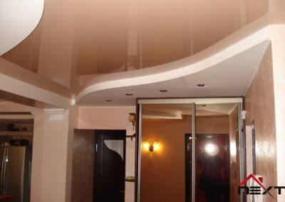 Sufit napinany w zabudowie (korytarz)